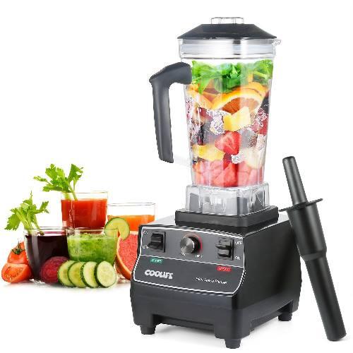 Frullatore da tavolo Coolife da Cucina, Smoothie Mixer Multifunzione, Emulsionatore, Adatto a Succhi e Zuppe