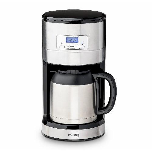 H.Koenig STW26 Macchina del Caffe Americano con Filtro, Programmabile, Caraffa isotermica