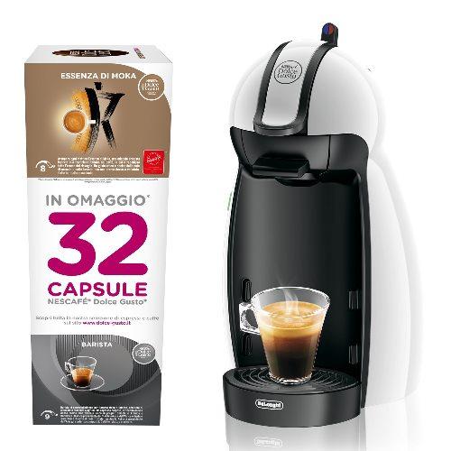 Dolce Gusto EDG100.W Nescafe Piccolo Macchina per Caffè Espresso e Altre Bevande