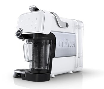 Lavazza Macchina Caffè Fantasia Plus, 1200 Watt, Ice White
