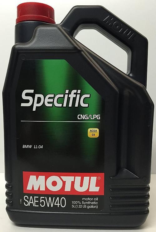 Migliore olio motore metano gpl motul 101719